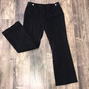 Anne Klein Black Dress Slacks